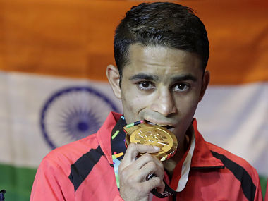 Asian Games 2018 Boxer Amit Panghal beats reigning Olympic and Asian champion Hasanboy Dusmatov to clinch gold