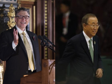 Ban Kimoon Bill Gates to head commission on climate change project to launch in September