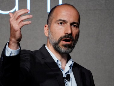 Uber CEO Dara Khosrowshahi management team take IPO roadshow to New York as demand builds up