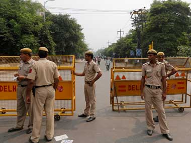 Security beefed up in Delhis Trilokpuri after two cows found dead DMC chief warns incident could trigger violence