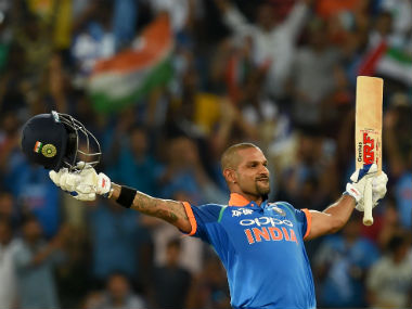 India might want to rest in-form Shikhar Dhawan in the match against Afghanistan. AFP
