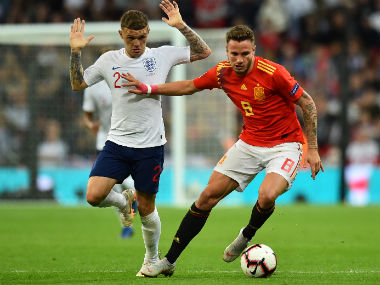 UEFA Nations League England defender Kieran Trippier says team must not panic after defeat to Spain