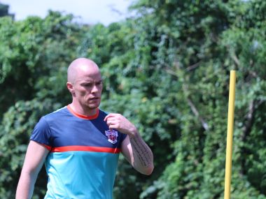 ISL 201819 Canadian striker Iain Hume expected to be fit only in December says Pune City coach Miguel Portugal
