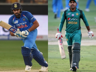 India lead 6 to Pakistan's 5 on head-to -head encounters in Asia Cup. Agencies