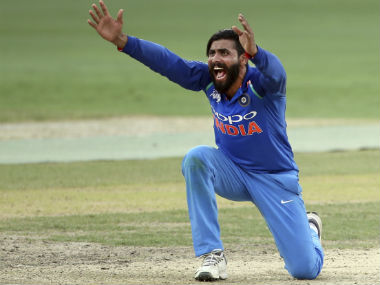 Ravindra Jadeja won the Man of the Match for his figures of 4/29. AP