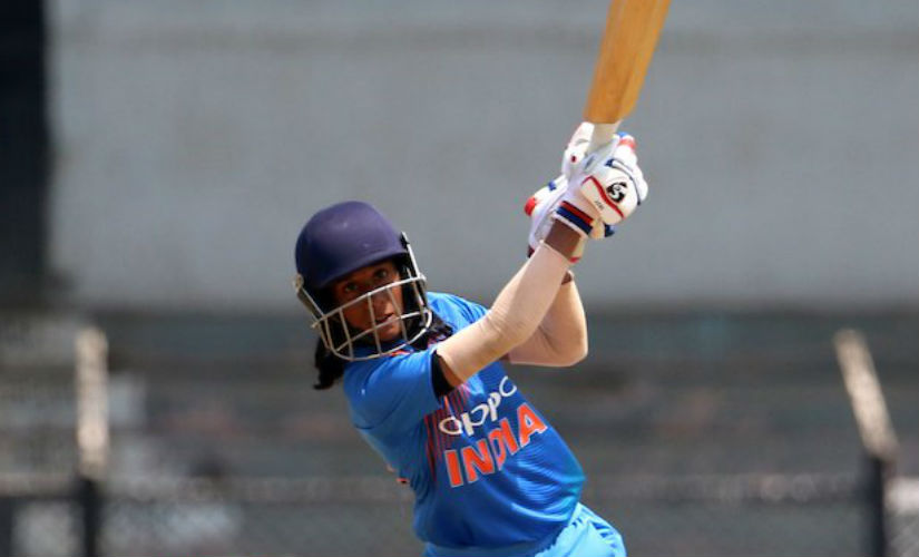 File image of India's Jemimah Rodrigues. Image credit: Twitter/@BCCIWomen