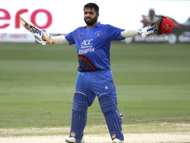 Mohammad Shahzad scored a blistering knock against India in the Asia Cup. AP