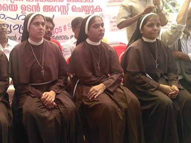 Kerala rape case Four nuns who protested against accused Franco Mulakkal asked to leave Missionaries of Jesus convent