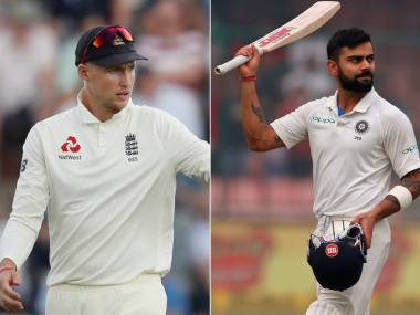India skipper Virat Kohli and his England counterpart Joe Root. AP