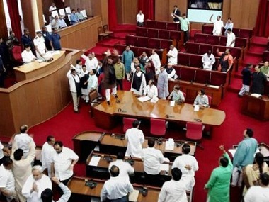 Odisha Congress BJP MLAs boycott Assembly after House passes resolution without paying respect to Opposition