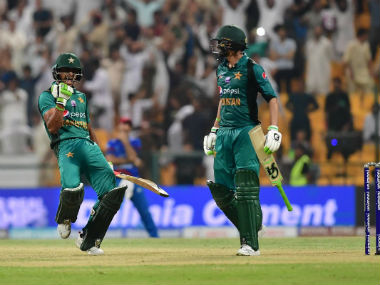Shoaib Malik powered Pakistan to a three-wicket win over Afghanistan. Twitter: @ICC