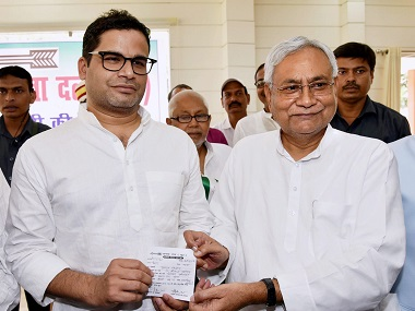 Prashant Kishor questions Nitish Kumar govts development model accuses Bihar CM of making ideological compromises to stay in alliance with BJP