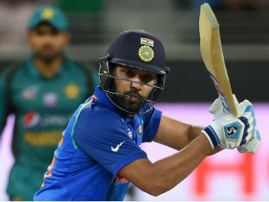 Skipper Rohit Sharma scored a breezy fifty to steer India to a comfortable win. AFP