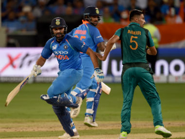 India take on Pakistan in the Super Four of the 2018 Asia Cup on Sunday. AP