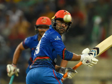 Afghanistan's Rashid Khan was the star of the match. Twitter: @ICC