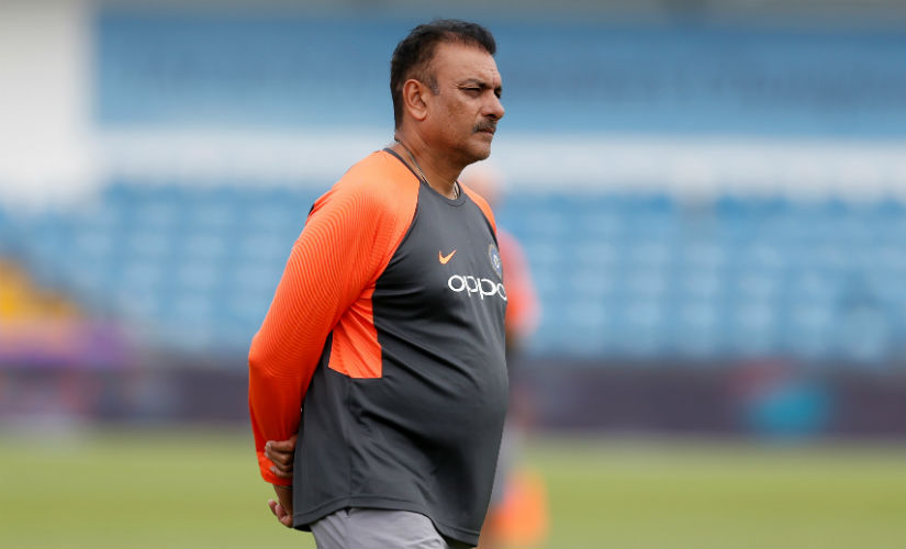 During practice sessions Ravi Shastri would move from one net to another, constantly interacting with players. Reuters