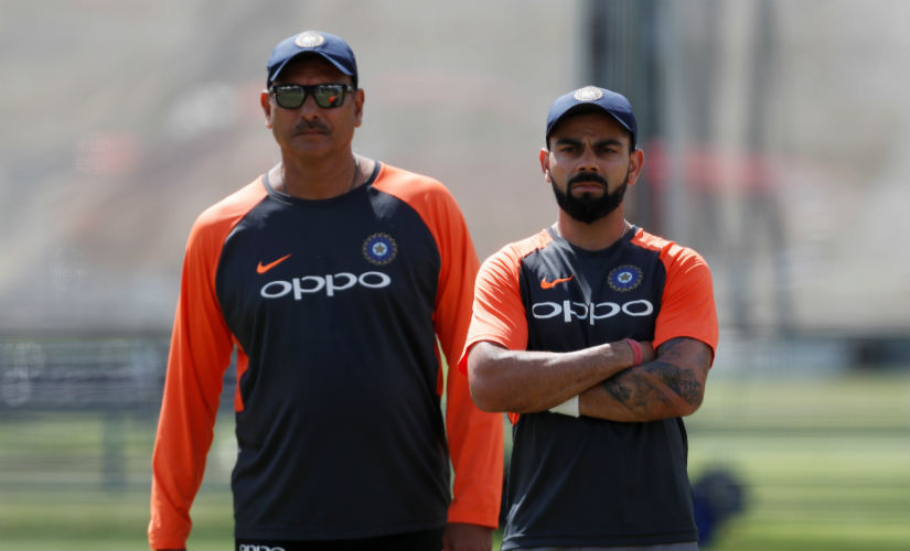Ravi Shastri, unlike Anil Kumble, had in his first stint already developed a healthy working relationship with Virat Kohli. Reuters
