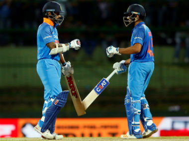 Rohit Sharma and Shikhar Dhawan, captain and vice-captain respectively of India's Asia Cup squad. Reuters