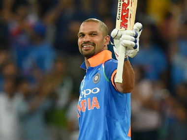 India may rest in-form Shikhar Dhawan against Afghanistan. AFP