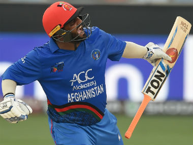 Mohammad Shahzad scored a century on Tuesday. AFP