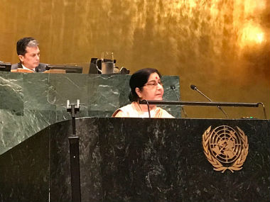 Pakistan rejects Sushma Swarajs UNGA speech claims India practices terrorism as state policy instrument