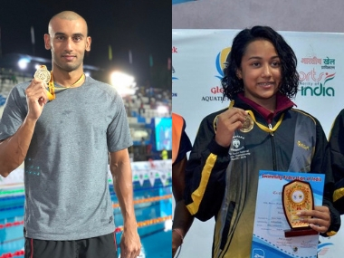 Senior National Aquatic Championship Swimmers Virdhawal Khade Saloni Dalal break national records