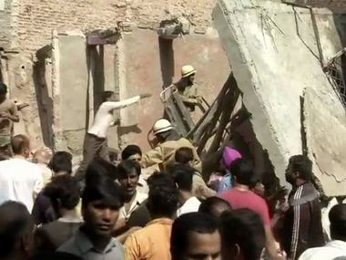 Delhi building collapse NDMC orders fresh survey to identify dangerous buildings terminates contract of errant engineer