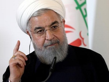 Hassan Rouhani calls US sanctions on Tehrans blacklisted central bank a desperation in face of Iranian resistance