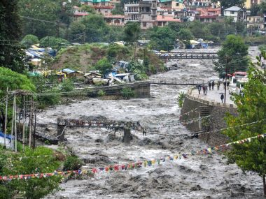 North India rains 49000 cusecs of water to be released into Beas river from Pong Dam in Himachal Pradeshs Kangra today