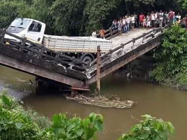 Another bridge collapses in West Bengal one injured in Siliguri mishap second incident in three days