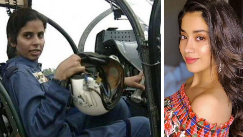 Janhvi Kapoor to reportedly play first woman IAF pilot Gunjan Saxena in Dharma Productions next