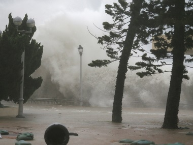Typhoon Mangkhut pounds south China after toll rises to 64 in Philippines 24 million evacuated from Guangdong province