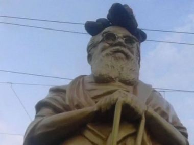 Periyar statue vandalised in Tamil Nadus Kancheepuram amid row over rationalist leaders views on Hindu gods