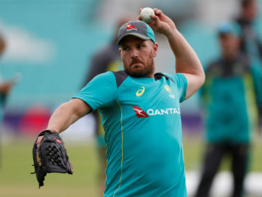 File image of Aaron Finch. Reuters