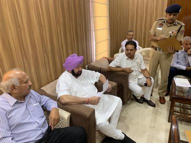 Amritsar train tragedy Chief Minister Amarinder Singh takes stock of relief work orders magisterial probe