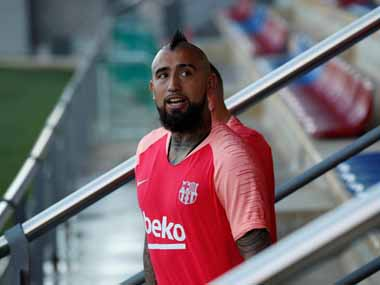 LaLiga Arturo Vidal lacked respect for teammates by complaining on social media says Barcelona sporting director Pep Segura