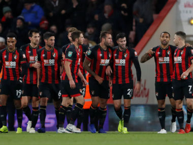 League Cup Bournemouth ride on Steve Cooks winner to beat Norwich Burton earn surprise win over Nottingham Forest