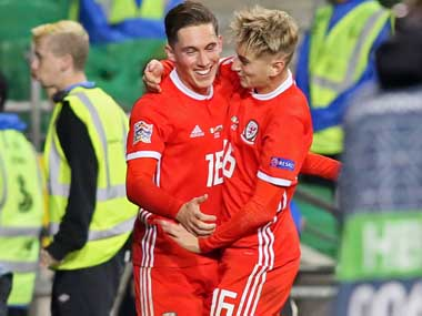 UEFA Nations League Wales Harry Wilson produces spectacular free kick to seal 10 victory against toothless Ireland