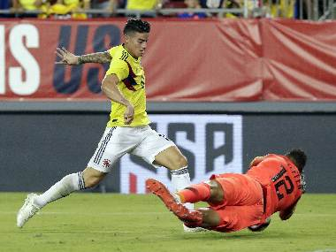 International friendlies James Rodriguez inspires Colombia to victory over inexperienced USA side