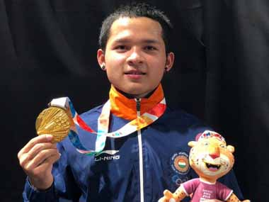 Jeremy Lalrinnunga sets national record en route to Senior National Weightlifting Championships gold medal