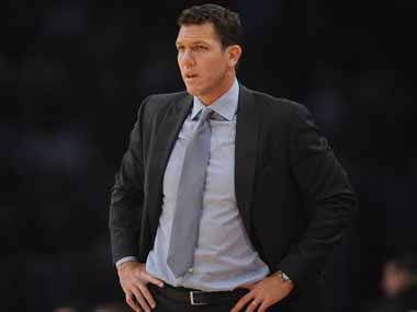 NBA Los Angeles Lakers coach Luke Walton fined 15000 for questioning officials after San Antonio Spurs defeat