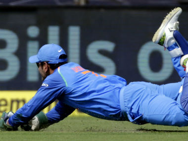 Dhoni is still the best wicket-keeper in India, as his catch to dismiss Chandrapaul Hemraj in Pune illustrates.