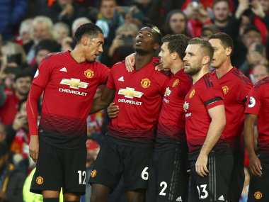 Premier League Paul Pogba Anthony Martial help Manchester United secure muchneeded win against Everton