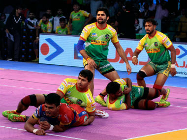 Pro Kabaddi 2018 Telugu Titans vs Patna Pirates Match Highlights Titans beat Pirates to end home leg on a high
