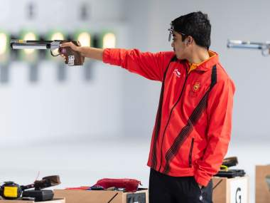 Saurabh Chaudhary shows sublime form to win mens 10m air pistol event at National Shooting Trials