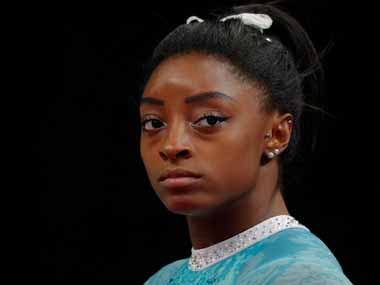 Simone Biles admitted to hospital in Doha with kidney stone problems on eve of World Gymnastics Championships