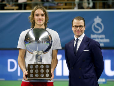 Stockholm Open Stefanos Tsitsipas eases past Ernests Gulbis in straight sets to become first Greek man to win ATP title