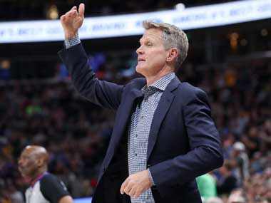 NBA Playoffs 2019 Warriors head coach Steve Kerr disappointed by Rockets officiating concerns in game one