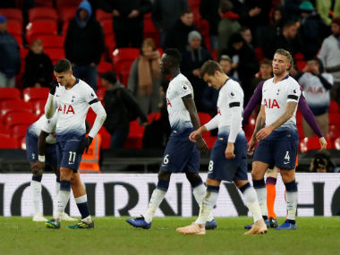 Premier League Midfield woes selfdoubts consign Tottenham Hotspur to 01 loss against Manchester City