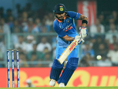 Virat's batting remains constant across formats, which is a big factor in his awe-inspiring consistency. AFP